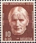 [Pro Juventute - The 100th Anniversary of the Birth of Ludwig Forer and Susanna Orelli - Flowers, Tip RQ]