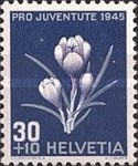 [Pro Juventute - The 100th Anniversary of the Birth of Ludwig Forer and Susanna Orelli - Flowers, Tip RS]