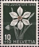 [Pro Juventute - The 100th Anniversary of the Death of Rodolphe Töpffer - Flowers, Tip SA]