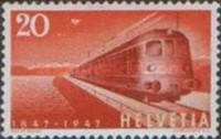 [The 100th Anniversary of the Swiss Railway, Tip SK]