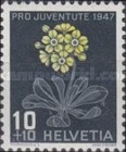 [Pro Juventute - The 50th Anniversary of the Death of Jacob Burckhardt - Flowers, Tip SN]