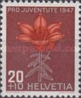 [Pro Juventute - The 50th Anniversary of the Death of Jacob Burckhardt - Flowers, Tip SO]