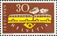 [The 100th Anniversary of the Swiss Post, Tip TT]