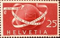 [The 75th Anniversary of the Universal Postal Union - UPU, Tip TV]