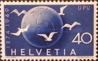 [The 75th Anniversary of the Universal Postal Union - UPU, Tip TW]