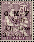 [France Postage Stamps of 1900-1902 Overprinted