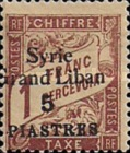 [France Postage Due Stamps of 1893-1920 Overprinted