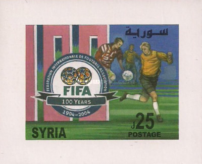 [The 100th Anniversary of Federation Internationale de Football Association or FIFA, type ]