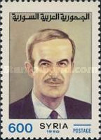 [President Assad Commemoration, 1928-2000 and the 20th Anniversary of Revolution of 16 November 1970, Typ AQK3]