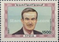 [President Assad Commemoration, 1928-2000 and the 20th Anniversary of Revolution of 16 November 1970, type AQL1]