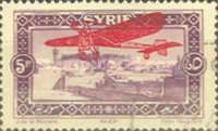 [Airmail - Previous Issues Overprinted, type AS]
