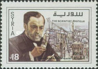[The 100th Anniversary of the Death of Louis Pasteur, 1822-1895, type AVX]