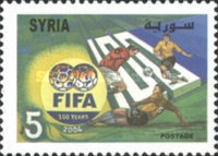 [The 100th Anniversary of Federation Internationale de Football Association or FIFA, type BCY]