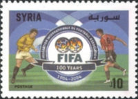 [The 100th Anniversary of Federation Internationale de Football Association or FIFA, type BCZ]