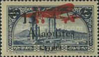 [Airmail - Local Motives - Previous Issues Surcharged, type CA]