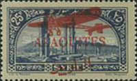[Airmail - Local Motives - Previous Issues Surcharged, type CB]