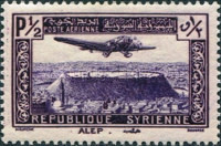 [Airmail - Aircraft over Aleppo and Damascus, Typ ET]