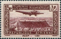 [Airmail - Aircraft over Aleppo and Damascus, Typ ET3]