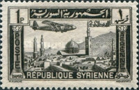 [Airmail - Aircraft over Aleppo and Damascus, Typ EU]