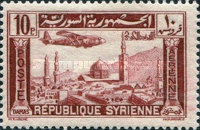 [Airmail - Aircraft over Aleppo and Damascus, Typ EU2]