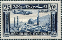 [Airmail - Aircraft over Aleppo and Damascus, Typ EU3]