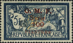 [Previous Issues Overprinted Ornament in Red or Black, Typ G8]