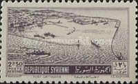 [Airmail - Port of Latakia, Typ IW]