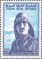[Airmail - The 16th Anniversary of Evacuation of British and French Troops from Syria, type NC]