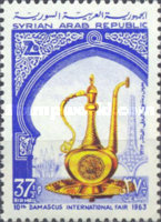 [Airmail - The 10th International Fair, Damascus, type OD]
