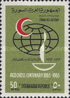 [Airmail - The 100th Anniversary of International Red Cross, type OJ]