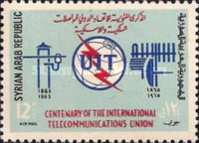 [Airmail - The 100th Anniversary of I.T.U., type PO]