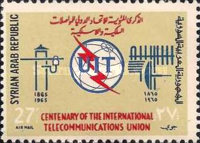 [Airmail - The 100th Anniversary of I.T.U., type PO1]