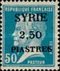 [Louis Pasteur Issue Surcharged & Overprinted