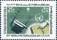 [Airmail - The 10th World Meteorological Day, type TQ]