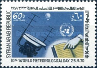 [Airmail - The 10th World Meteorological Day, type TQ1]