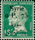 [French Louis Pasteur Issue Surcharged & Overprinted