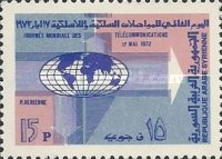 [Airmail - World Telecommunications Day, type VV]
