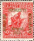 [Hungary Charity Stamps Overprinted, type C]