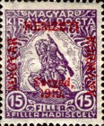 [Hungary Charity Stamps Overprinted, type C1]