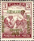 [Hungary Postage Stamps Overprinted, type D1]