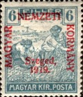 [Hungary Postage Stamps Overprinted, type D3]