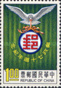 [The 70th Anniversary of Chinese Postal Services, Typ JK]