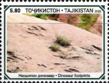 [Paleontology in Tajikistan, type AFK]