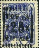 [Wheel of Eternity - Numbers 7-10 Handstamp Surcharged, type A13]