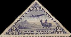 [Airmail - Airplanes and Animals, type AJ]