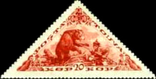 [Previously Issued Stamps in New Colors, type BN1]