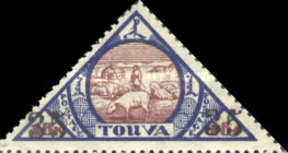 [Local Motifs - Issue of 1927 Surcharged, type K1]