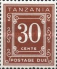 [Postage Due Stamps - Different Perforation, Typ A15]