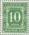 [Postage Due Stamps - Different Perforation, Typ A19]