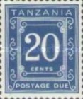 [Postage Due Stamps - Different Perforation, Typ A20]
